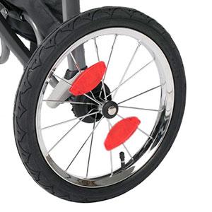 poussette-Jogging-roue-reflecteur-lumiere