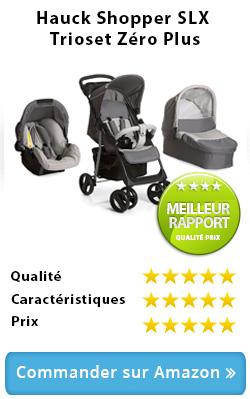 Hauck Shopper SLX Trioset Zero Plus